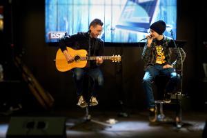 Luca & Ari, Musiikkimessut 2014